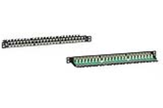 Brand-Rex Cat6 1/2U 24Port Screened Panel -